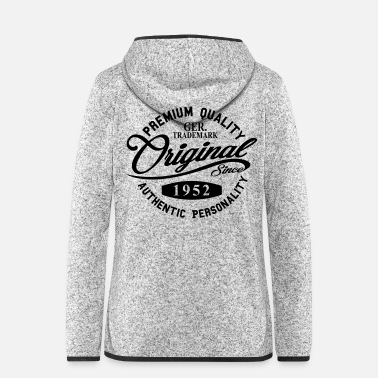 Original Since 1952 Handwriting Premium Quality - Women's Hooded Fleece Jacket