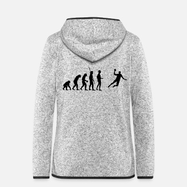 Jump Shot Evolution handball - Women's Hooded Fleece Jacket