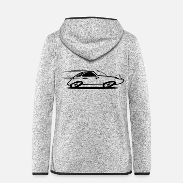 Car Sports car car car car fast - Women's Hooded Fleece Jacket