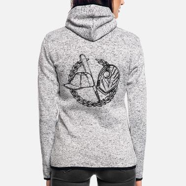 Baseball baseball - Women's Hooded Fleece Jacket