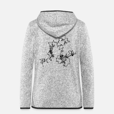 Motion Brownian Motion - Women's Hooded Fleece Jacket