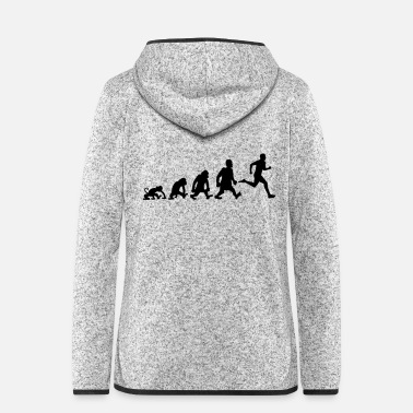 Running run - Women's Hooded Fleece Jacket
