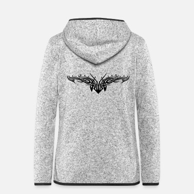 Filigree Tribal ornament, filigree style. - Women's Hooded Fleece Jacket