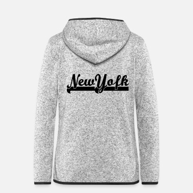 Nyc Love ° • Ich liebe NewYork-Best City Typography - Frauen Fleece Kapuzenjacke