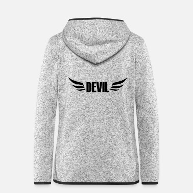 Devil Male devil - Women's Hooded Fleece Jacket