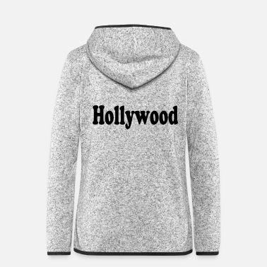 Hollywood hollywood - Veste à capuche polaire Femme