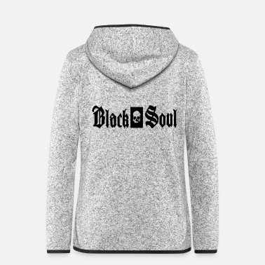 Soul blach soul - Women's Hooded Fleece Jacket