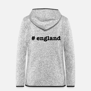 England # england - Women's Hooded Fleece Jacket