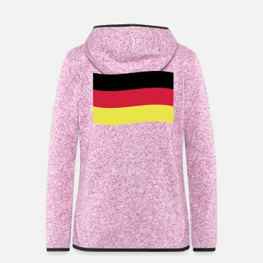 Flag Germany Flag Flag - Women's Hooded Fleece Jacket
