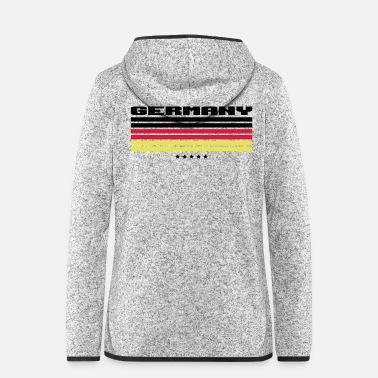 Schland Germany 5 stars - Women's Hooded Fleece Jacket