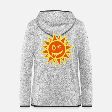 Heat sonne_2_f2 - Women's Hooded Fleece Jacket