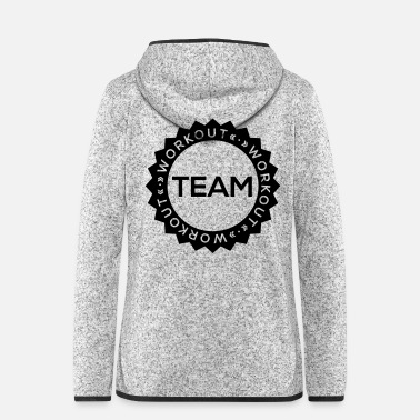 Workout TEAM Workout - Vrouwen fleece jack