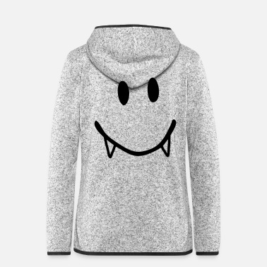 Vampire smiley vampire - Vrouwen fleece jack