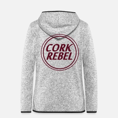Cork cork rebel - Women's Hooded Fleece Jacket