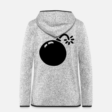 Bomb bombe / bomb - Women's Hooded Fleece Jacket