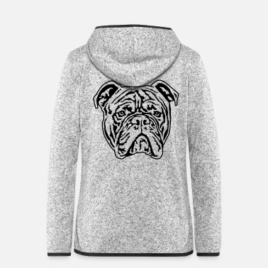Bulldog 466 Continental Bulldog - Frauen Fleece Kapuzenjacke