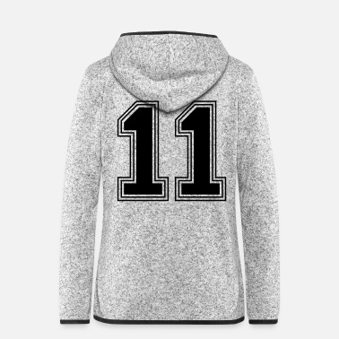 Year Of Birth 11_number_11_(s31) - Women's Hooded Fleece Jacket