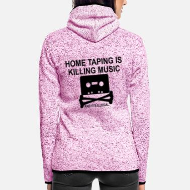 Personalize: Home Taping - Women's Hooded Fleece Jacket