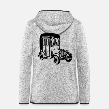 Car oldie classic car car car car funny - Women's Hooded Fleece Jacket