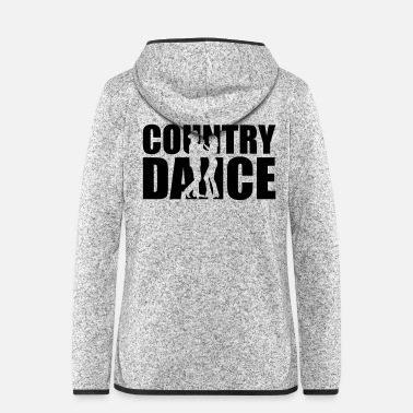 Country Country dance - Women's Hooded Fleece Jacket