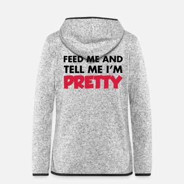 Pretty Pretty - Women's Hooded Fleece Jacket