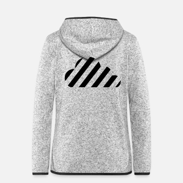 Cloudy cloudy day - Women's Hooded Fleece Jacket