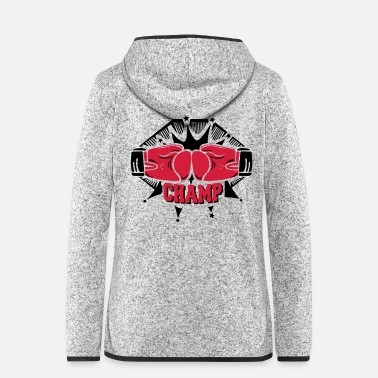 Champ champ - Women's Hooded Fleece Jacket