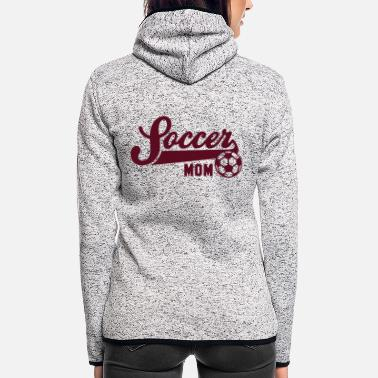Football Underwear Soccer MOM - Women's Hooded Fleece Jacket
