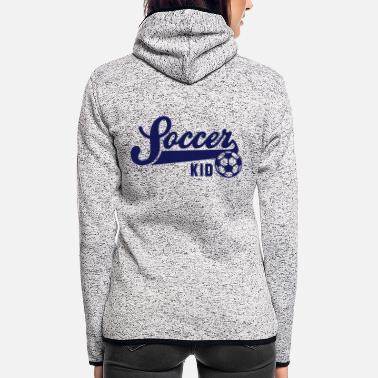 Football Underwear Soccer KID - Women's Hooded Fleece Jacket