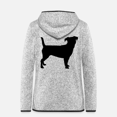 Jack Jack Russel - Women's Hooded Fleece Jacket