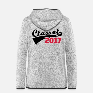Senior Class of 2017 - Women's Hooded Fleece Jacket