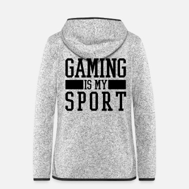 Gaming GAMING IS MY SPORT - Fleeceluvjacka dam