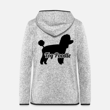 Toy Toy Poodle - Women's Hooded Fleece Jacket