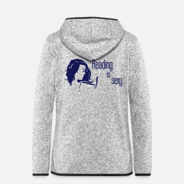 Read Reading Is Sexy - Women's Hooded Fleece Jacket