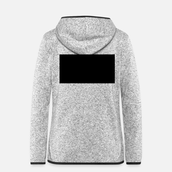 Shape Jackets - Rectangle - Women's Hooded Fleece Jacket light heather grey