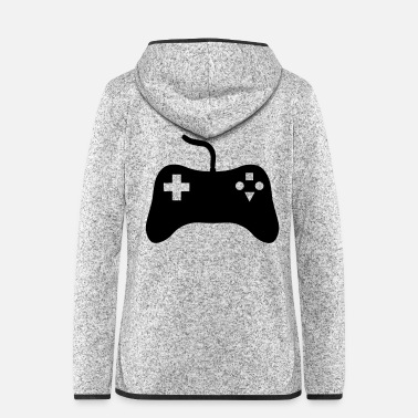 Console Gaming Console - Women's Hooded Fleece Jacket