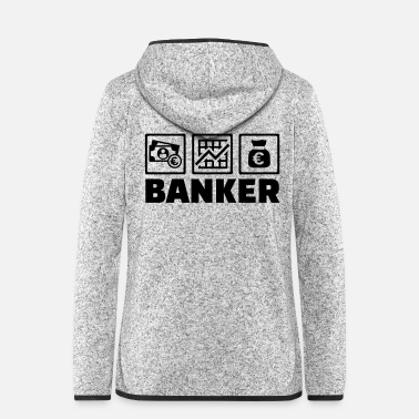Banker Banker - Women's Hooded Fleece Jacket