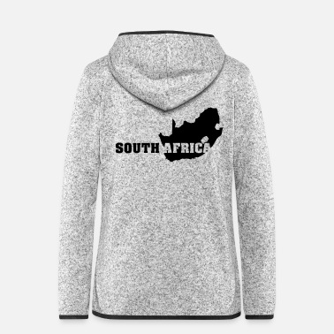 South Africa South Africa (ID: 002004) - Women's Hooded Fleece Jacket