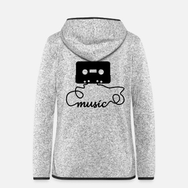 Tape Tape music - Frauen Fleece Kapuzenjacke