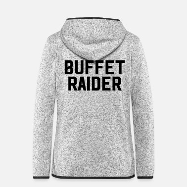 Raider Buffet Raider - Women's Hooded Fleece Jacket