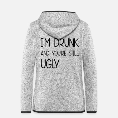 Ugly Ugly - Women's Hooded Fleece Jacket