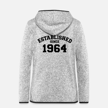 Established Established 1964 - Women's Hooded Fleece Jacket