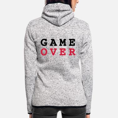 Game Over Game Over - Veste à capuche polaire Femme