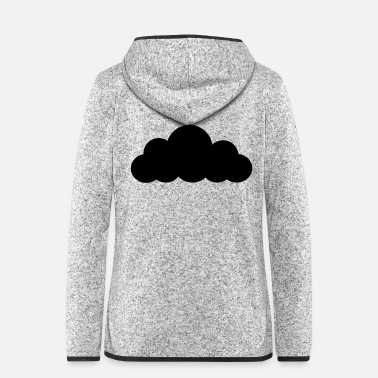 Lightning cloud - Women's Hooded Fleece Jacket