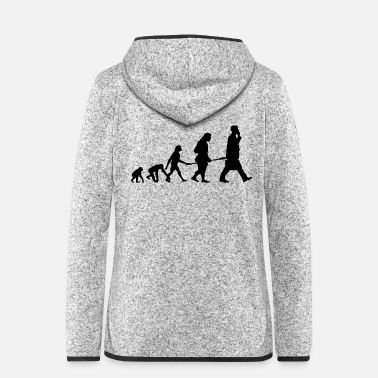 Mobile MOBILE EVOLUTION - Women's Hooded Fleece Jacket