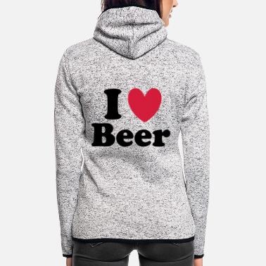 Beer - Frauen Fleece Kapuzenjacke