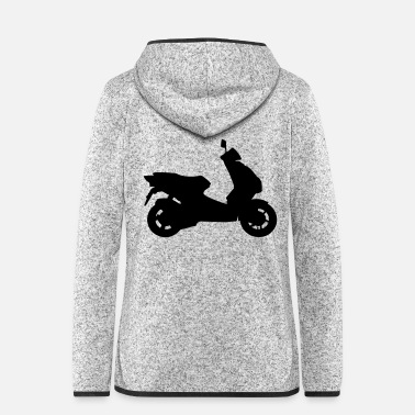 Motorcycle roller_f1 - Women's Hooded Fleece Jacket