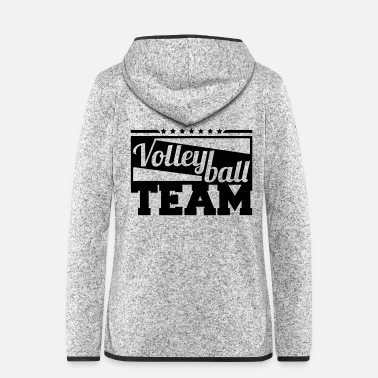 Beach Volley volleyball_team_gi1 - Veste à capuche polaire Femme