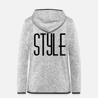 Style Style - Women's Hooded Fleece Jacket