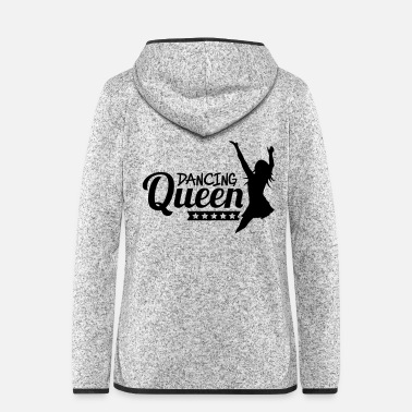 Hip dancing_queen_f1 - Women's Hooded Fleece Jacket